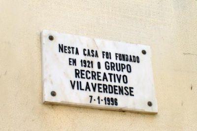 Placa Comemorativa Fundação